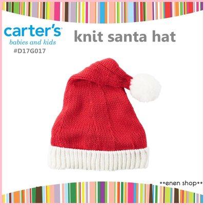 Enen Shöp @Carter's 聖誕針織毛線帽/耶誕帽 santa ∥ 12M-24M/2T-4T
