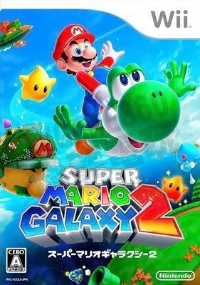 【二手遊戲】WII 超級瑪利歐銀河2 SUPER MARIO GALAXY 2 日文版 日版【台中恐龍電玩】