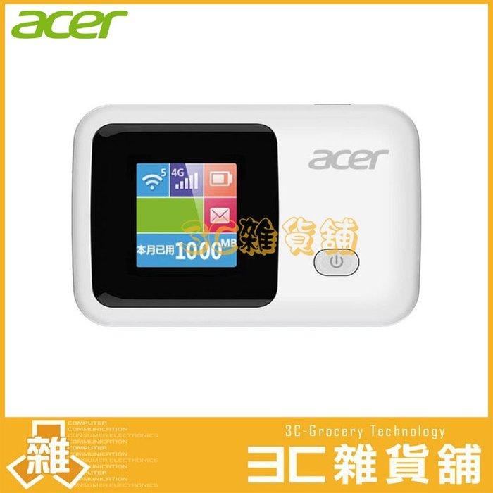 【3C雜貨】附發票 宏碁 Acer LTE-R1S 4G LTE 無線網路分享器 行動分享 WiFi