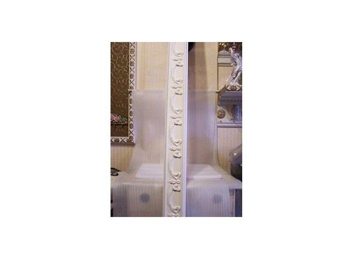 歐洲宮廷藝術精品- -文藝復興 維多利亞 巴洛克圖一PI-3007 立體浮雕PU平線板每支$660