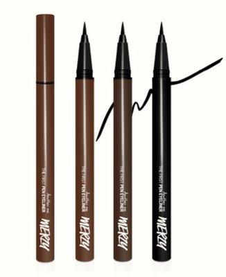 MERZY 極致防水0.12mm好上手眼線液筆 三色限時特價預購中