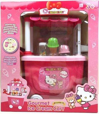 正版 當天寄 hello kitty/冰淇淋車/kt冰淇淋車 正版授權 三麗鷗公司貨