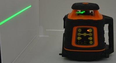 【宏盛測量儀器】萊賽LAISAI LSG524雷射水平儀 綠光 直徑400M 水平垂直(全配) 校正後出貨