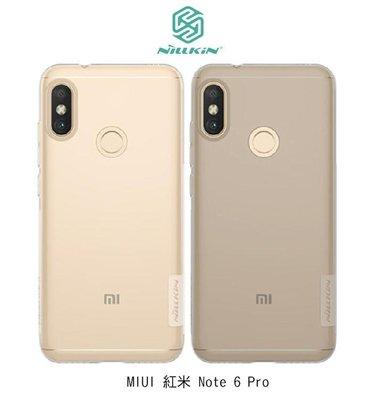 *Phone寶*NILLKIN MIUI 紅米 Note 6 Pro 本色TPU軟套 保護套 超薄套 手機套 透明殼