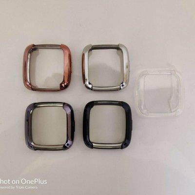 當天發貨 fitbit versa2 電鍍保護殼 TPU 軟殼 透明保護殼