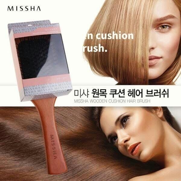 韓國MISSHA 木質按摩氣囊梳 (貴婦髮梳) ~現貨5支
