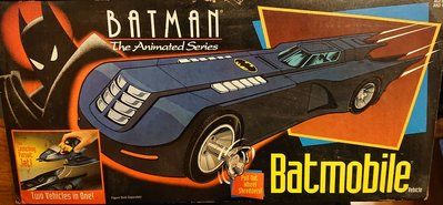 Batman batmobile the animated series kenner 出品 蝙蝠俠