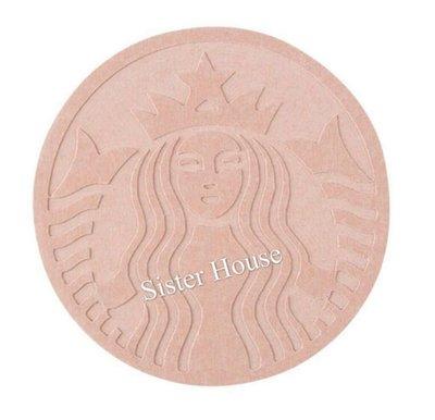 Starbucks Korea 2019 Summer Siren Pink Diatomite Coaster 星巴克韓國夏天粉紅色杯墊