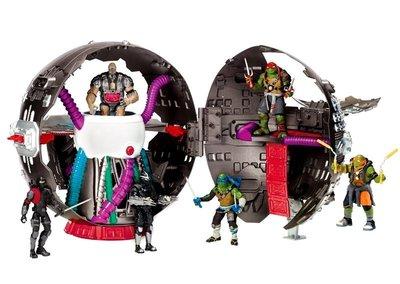 2F : 忍者龜 NINJA TURTLE 巨大場景 TECHNODROME SPHERICAL BASE 富貴玩具店