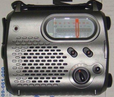 Radio Shack 20-238 AM/FM/SW1/SW2 可手搖發電收聽收音機