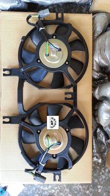 ※瑞朋汽材※三菱SPACE-GEAR2.4 冷排前冷氣散熱風扇總成 OE馬達 全新特價2300元