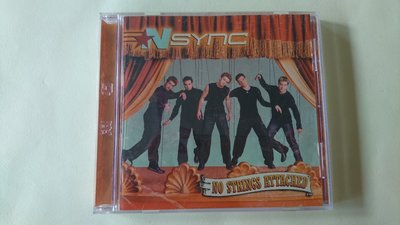 【鳳姐嚴選二手唱片】NSYNC 超級男孩 / NO STRINGS ATTACHED (CD+VCD)