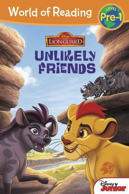*小貝比的家*THE LION GUARD:UNLIKELY FRIENDS/PRE-L1/平裝/3~6歲