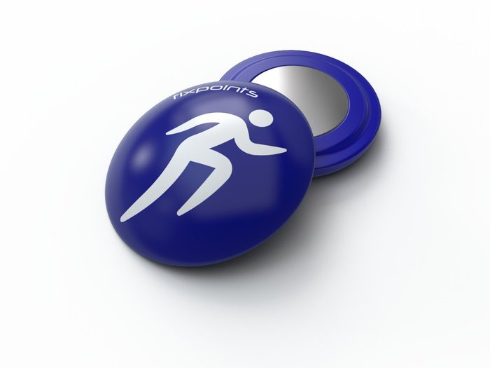 藍色跑者-德國騛點/fixpoints號碼布磁扣(1組四顆),不讓別針勾壞衣服布料.簡單,快速,安全.共15種款式