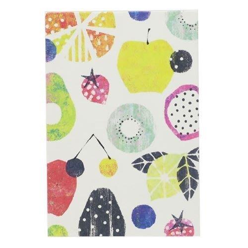 《散步生活雜貨-和雜貨散步》日本製 Syun-Ka 旬果 水果圖案 集印帳 御朱印帳GN-14040