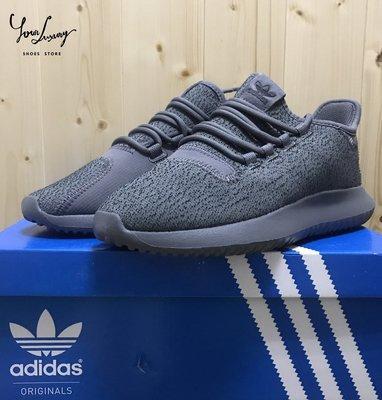 【Luxury】Adidas Originals W Tubular Shadow 灰黑 小椰子 小350 BY9741