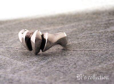 奧嘉精品設計 K's Collection 925純銀飾 極簡流線獸爪戒指 野獸百獸 俐落簡潔 時尚