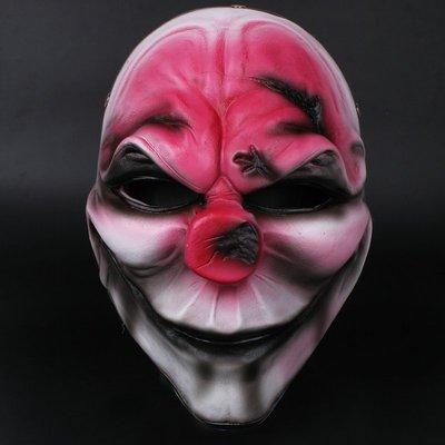 五娃爭福收獲日2面具Dallas萬聖節payday掠奪者面具新腦袋面具