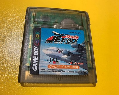 幸運小兔 GBC遊戲 GB 開飛機去吧 Let's Go By Airliner GameBoy GBA 適用 F3