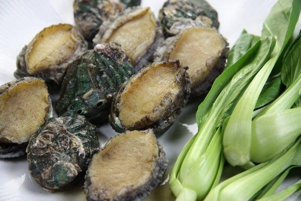 【萬象極品】《特價》帶殼鮑魚(又稱九孔鮑)(半熟凍)22顆 /1000g /袋 ~ 教你作和風鮑魚沙拉 ~