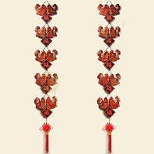 【木雕】【單串價】木雕工藝品福字壁飾中式家居牆飾牆面魚壁掛客廳實木牆壁掛件裝飾【wns_180523_011】
