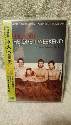 外出用餐:冰火5重天 DVD Eating Out:The Open Weekend (全新)(非 APPLE 三星)