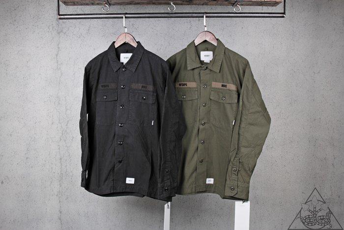 【HYDRA】Wtaps Buds LS / Shirt. Cotton. Ripstop 軍襯衫 口袋【WTS113】