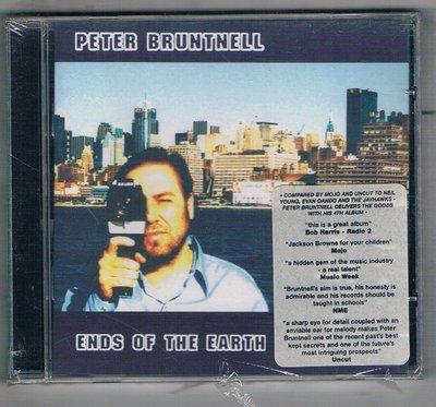 [鑫隆音樂]西洋CD-Peter Bruntnell/世界盡頭 Ends Of The Earth{VJCD139}全新