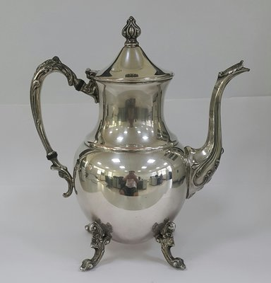 405高級英國鍍銀壺 Silver Plate Coffee Pot SDN17 by SHERIDAN 10吋高