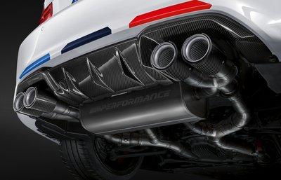 【樂駒】BMW M2 Competition M Performance 排氣管 鈦合金 碳纖維尾飾管 改裝 聲浪