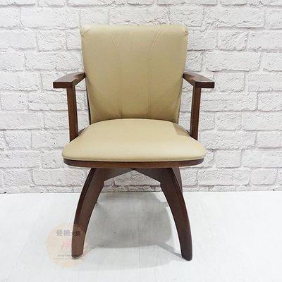 餐椅 椅子【保羅】旋轉椅 實木椅 工作椅 洽談椅 書桌椅 咖啡椅 北歐餐椅 布餐椅 餐桌椅 皮餐椅【量大可議】=餐椅大師