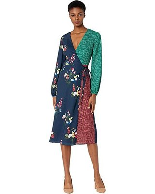 ted baker Talissa Peppermint Mash Up Wrap Dress