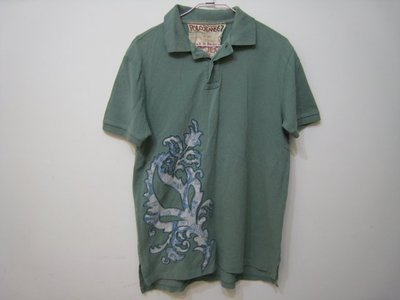 Ralph Lauren POLO JEANS 綠色短袖 POLO衫 M號