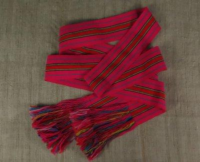 [ 珠舍 ] 原住民阿美族手織男子腰帶.男帽 *低價起標*標多少賣多少*