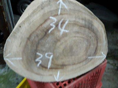 台灣香樟圓木椅尺寸:51x28x32公分(毛料)