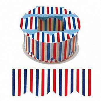 Peta Peta 日本製 法式紅藍白海軍風波浪和紙膠帶