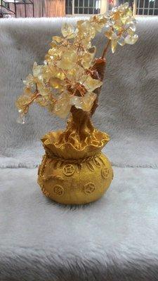 ~~~水晶林~~~象徵招財的天然黃水晶發財樹⋯
