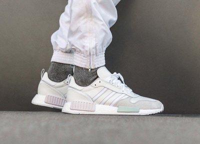 【Cheers】Adidas Rising star x R1 男鞋 白灰 麂皮 運動鞋 粉 綠 米白 G28939