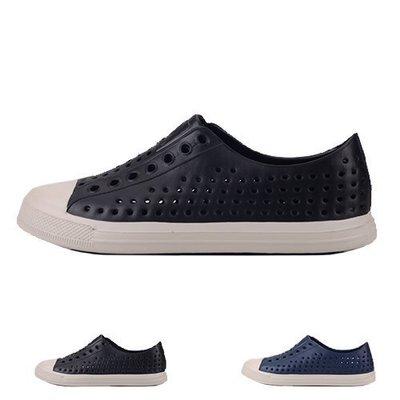 男款 洞洞鞋 COQUI雨天必備品休閒防水造型 洞洞鞋 Ovan