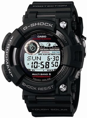【現貨日版喔!】日本CASIO株式會社公司貨G-SHOCK FROGMAN蛙人錶GWF-1000-1 JF GWF-D1000B-1JF