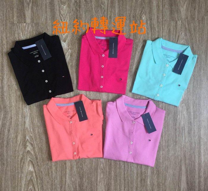紐約轉運站 :TOMMY HILFIGER 女生舒適棉質POLO衫 有腰身、彈性 全新真品現貨在台 美國購入