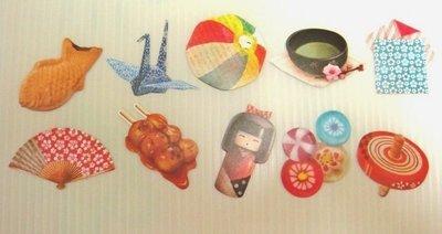 日本 Flake Stickers 旅行 日本 貼紙(10枚)