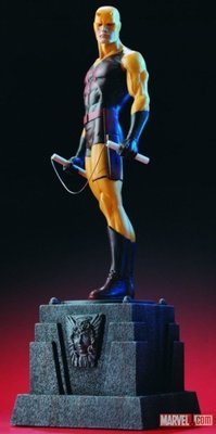 金錢貓雜貨全新 Marvel Bowen Designs 8.5吋 Yellow Daredevil 黃色夜魔俠 超膽俠