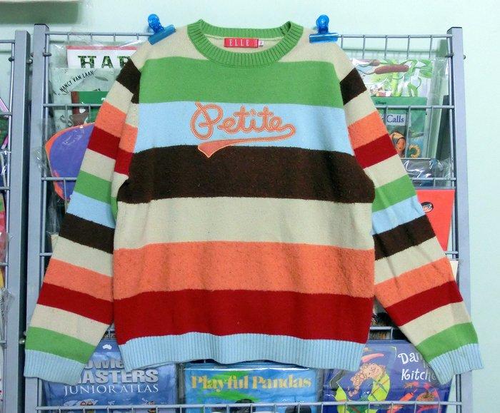 *【小小pen童衣】....為冬天的準備~~ELLE 毛衣  羊毛50% 壓克力纖維50%