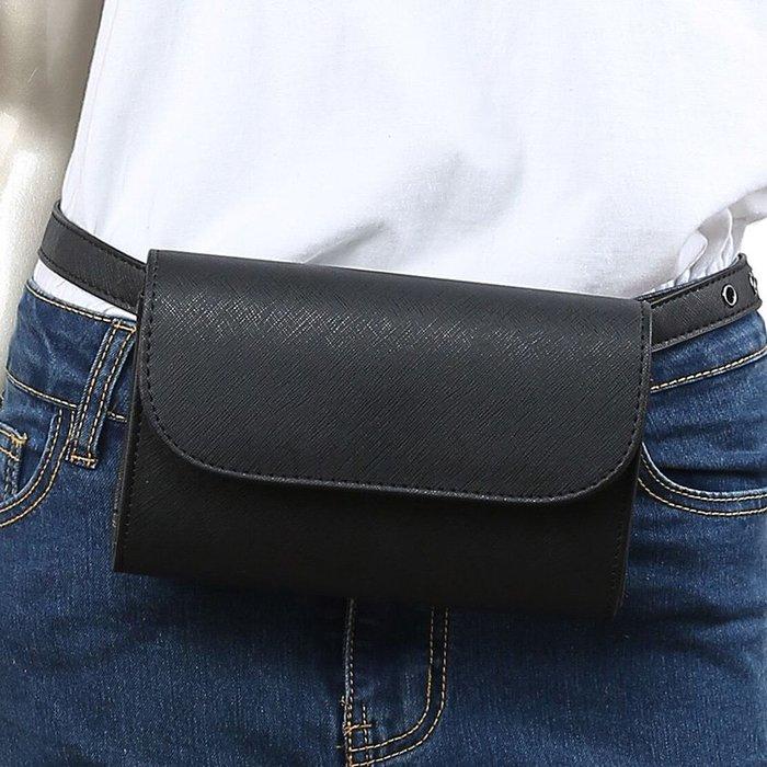 8010*導購腰包男女式時尚手機腰包營業員小包收銀包迷你皮包