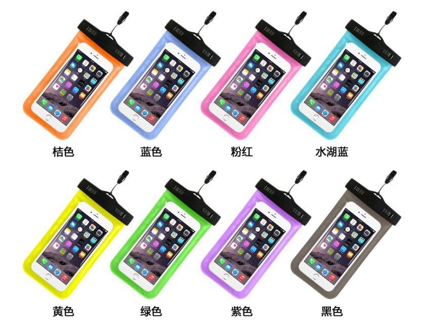 【兩面可透視】防水手機袋升級版 iphone5/6/6s/6plus note4/5 各手機通用