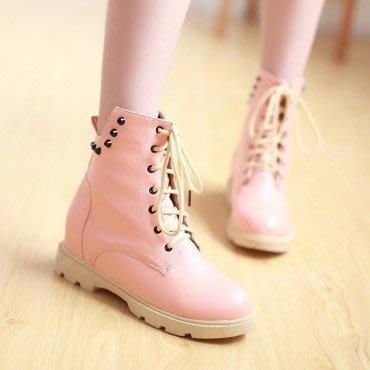 yes99buy加盟-純色防滑平跟短筒女靴