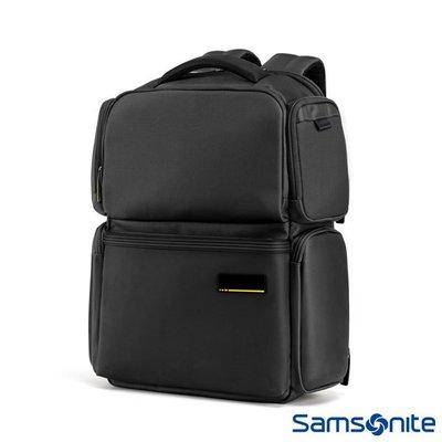 2019最新款,Samsonite新秀麗 Cityscape II多功能15.4吋筆電 拉鍊 後背包