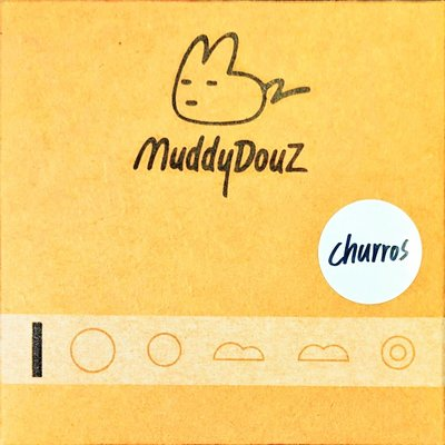 Muddy DouZ Churros 吉拿棒 木吉他 下弦枕拾音器 - 【黃石樂器】