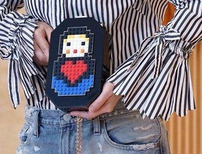 Les Petits Joueurs 時尚樂高包 hand clutches Jane 鍊帶娃娃包 現貨